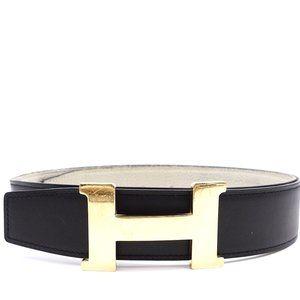 Constance Large 38mm Gold H Reversible Belt